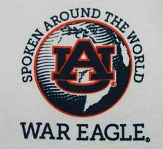 War Eagle, no matter where you go. I backpacked across Europe (a while back) and even there, people (mostly guys), knew about Auburn & the Auburn vs. The traditions of football in our state are known far & wide. Who'd a thunk it? Football War, Auburn Football, College Football Teams, Football Season, Auburn Vs, Auburn Tigers, Eagle Wallpaper, My War, Auburn University