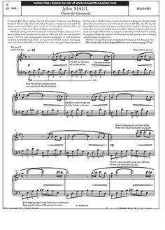 Theme for Constanze >>> KLICK auf die Noten um Reinzuhören <<<