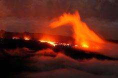 Piton de la Fournaise - Eruption 2010 Nikon D7000 - île de La Réunion  Volcan -Volcano - Reunion Island