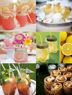 An IslandWood wedding includes glassware, but these mason jars are great examples of how to resue for a beautiful and eco green wedding