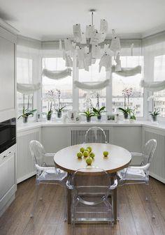 дневник дизайнера: Элегантный фьюжн интерьер трехкомнатной квартиры в Подмосковье