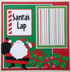 Christmas premade scrapbook  12x12 Premade by ohioscrapper on Etsy