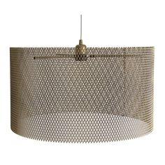 lámpara Dorada Rejilla | Tiendas On