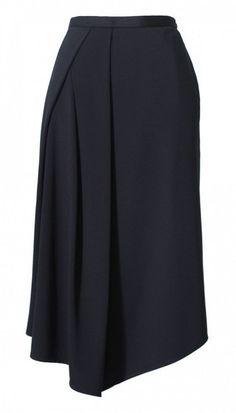 Tibi Jersey Drape Skirt: