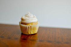 a healthier pumpkin cupcake