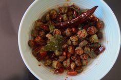 Lady's Finger Fry - Crispy Okra Recipe - Bhindi Fry - Bendakaya fry by Telugu Taste Buds Indian Food Recipes, Dog Food Recipes, Ethnic Recipes, Bhindi Fry, Okra Fries, Okra Recipes, Taste Buds, Food Videos, Vegetables