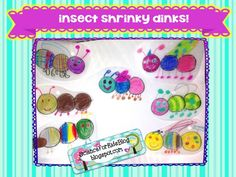 Freebie! Science for Kids: Insect Shrinky Dinks