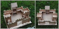 Château Fort, Manualidades, Home Made, Bricolage