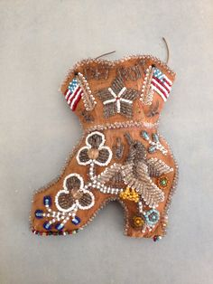Vintage antique- Native American - beaded whimsy - Detroit
