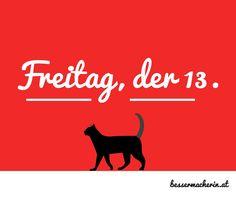 #aberglaube #freitag13 #schwarzekatze #bessermacherin #socialmedia