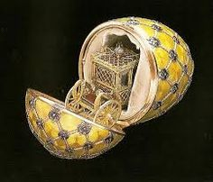 "Replica__( 2) FABERGE Egg__Enamel, swarovski ""Coronation, "" Decorative Egg/hand- made, Replica"