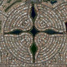 earthglance:  Sun Lakes, Arizona Cool, right?