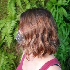 Layered hair is great but there is something about a blunt cut that just works. Having your hair all the same length can really make it easier to styl... Bob Cuts, Blunt Cuts, Hair A, Your Hair, Bob Styles, Short Hair Styles, Blunt Hair, Soft Curls, Ombre Color