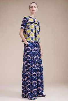 Yigal Azrouël Resort 2016 - Collection - Gallery - Style.com #botanicals #surfacedesign