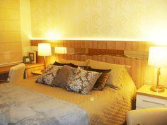 Apartamentos pequenos: 320 projetos de profissionais de CasaPRO - Casa - Quarto de casal projetado por Rosana Portes