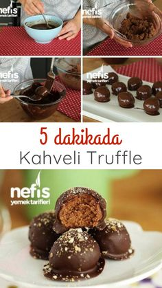 Videolu anlatım 5 Dakikada KAHVELİ İKRAMLIKLAR (Truffle) Tarifi nasıl yapılır? 27.358 kişinin defterindeki bu tarifin videolu anlatımı ve deneyenlerin fotoğrafları burada. Yazar: Elif Atalar Holiday Baking Championship, Mothers Day Dinner, Cake Recipes, Dessert Recipes, Wine Country Gift Baskets, Angel Food Cake, Köstliche Desserts, Sweet Tarts, Relleno