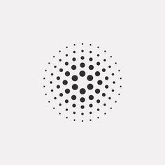 A new geometric and minimal design every day. Geometric Logo, Geometric Designs, Geometric Shapes, Logo Design Inspiration, Icon Design, Dot Painting, Grafik Design, Minimal Design, Textures Patterns