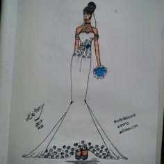 #vestido #denoiva #croqui  #moda