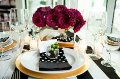 Classic Tablescape Inspired by Kate Spade!