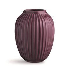 Kähler Keramická váza Hammershøi Plum 25 cm