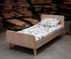 100 massive lime wood bed by elisabethleroy1 on Etsy, $845.00