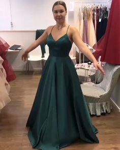 Elegant Dark Green Sweet 16 Gowns - modest dark green prom evening dresses, sweet 16 formal dresses, Source by berndendter - Modest Formal Dresses, Pretty Prom Dresses, Elegant Dresses For Women, Sweet 16 Dresses, Grad Dresses, Simple Dresses, Evening Dresses, Dark Green Prom Dresses, Elegant Gowns