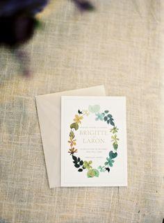 photo by: Jose Villa  Wedding Invitations