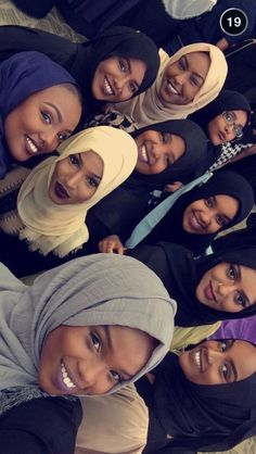 stunning black women wearing hijab and slaying their makeup❤❤ My Black Is Beautiful, Beautiful People, Beautiful Women, Beautiful Things, Black Power, African Beauty, African Women, Black Girls Rock, Black Girl Magic