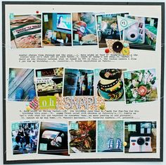 A Project by melissamann from our Scrapbooking Gallery