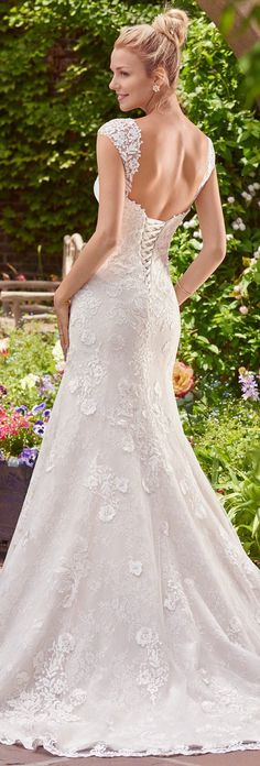 Wedding Dress by Rebecca Ingram - BRENDA   Less than $1,000   #rebeccaingram #rebeccabride