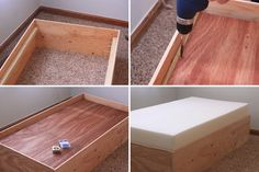 Diy Toddler Bed Home Diy Projects Pinterest Diy