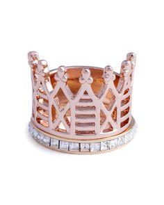 Crystal Reign Ring Set