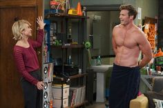 Pin for Later: 37 Shirtless TV Moments From 2016 That You Need to See Again Baby Daddy With a body like Danny (Derek Theler)'s, we'll have whatever Riley (Chelsea Kane)'s having!