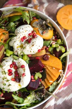 Beautiful, fresh and oh so healthy, this Persimmon, Farro, and Burrata Salad makes a perfect... Read Post