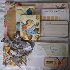 Scrap booking kit