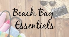 But before you plan your beach getaway, here are some beach bag essentials that can help you survive a full day at the beach.