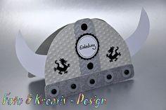Einladungskarten - Wikinger Einladung - Kindergeburtstag - ein Designerstück von Foto-und-Kreativ-Design bei DaWanda