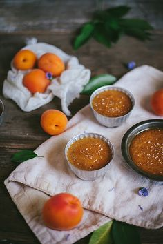 Salted Caramel and Apricot Pots de Creme / by Adventures in Cooking