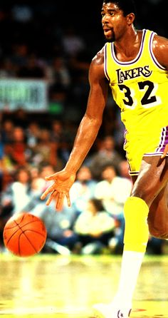 "Ervin "" Magic "" Johnson. One of the most entertaining NBA players of all time."