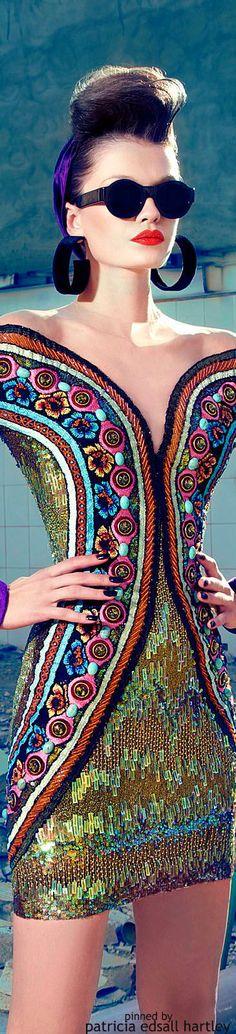 Rosamaria G Frangini   Fashion Chic   ColorFashionGlam   Nicolas Jebran