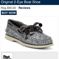 Sparkle sperrys I need!!!!