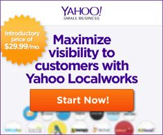 Yahoo Localworks 40% Off Coupon Code November 2014