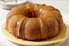 Moist Caramel-Apple Cake