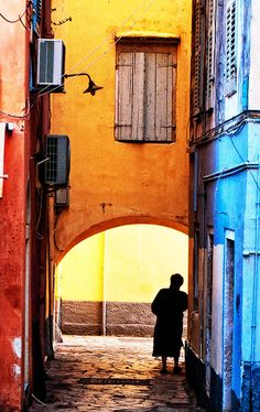Colourful Corfu (Kerkyra), Greece