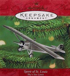 Hallmark 2000 Skys the Limit #4 - Spirit of St Louis