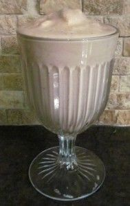 Mocha Madness Smoothie Lifetime Gym Copycat Recipe So yummy, except I use almond milk and hemp protein.