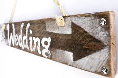 Wedding Sign on Reclaimed Distressed Wood White Rustic Wedding Decor Beach Wedding Reception Vintage Wedding Photo Props Bridal Shower Gift