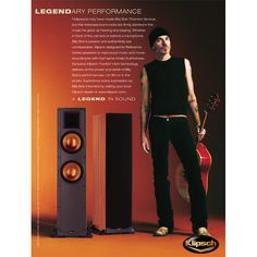 Billy Bob Thorton, an Arkansas native, appeared in this ad for Klipsch's Reference line of speakers. For more information on Klipsch Reference speakers, visit http://www.klipsch.com/reference