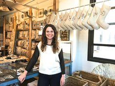 Stephanie Housley, owner and designer of Coral & Tusk http://www.newyorker.co.jp/magazine/fromny/4966/
