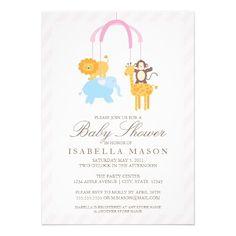 5 x 7 Mobile | Baby Shower Invite